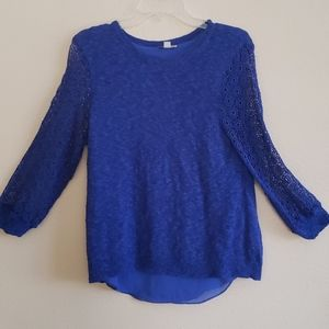 Lucky Brand-Royal Blue Sweater